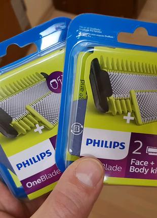 Сменные лезвия (кассеты) philips oneblade 620/50