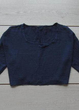 Акция на лето №53 жатая кофта футболка кроп топ