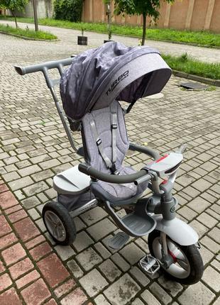 Велосипед 3-х колісний з поворотним сидінням