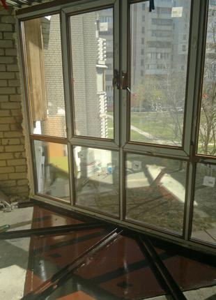 Металлопластиковые окна Rehau, Decco