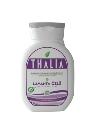 Шампунь Thalia з екстрактом лаванди для жирного волосся.