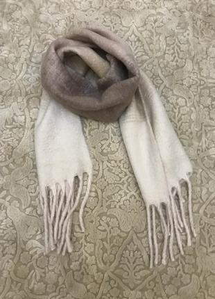 Красивый шарф плед h&m