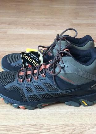 Новые зимние ботинки merrell gore-tex оригинал