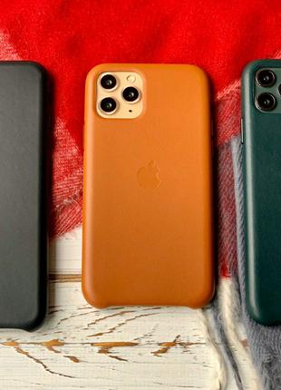 Чехол для iPhone кожаный
