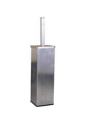 Ершик для унитаза нержавейка напольный Globus Lux SQ9429B