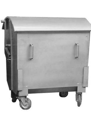 Контейнер для мусора 1100 литров 1,1 м куб. евроконтейнер
