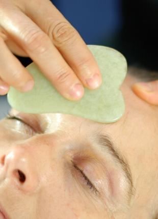 Китайский массаж лица Гуаша