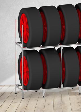 Модный стеллаж для хранения колес - (Model-1324SH)