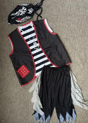 Карнавальный костюм: пират, разбойник . 4-6лет