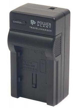 Зарядное устройство для фото PowerPlant Canon BP-808 (CH980031)