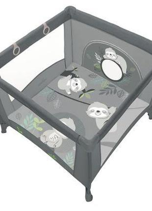Детский манеж Baby Design Play Up 2020 17 Graphite (202353)