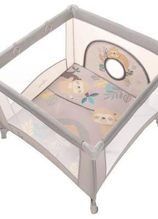 Детский манеж Baby Design Play Up 2020 09 Beige (202346)