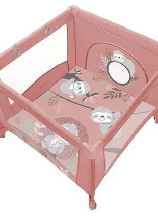 Детский манеж Baby Design Play Up 2020 08 Pink (202339)