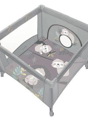 Детский манеж Baby Design Play Up 2020 07 Light Gray (202322)