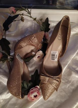 Шикарные туфли туфельки золото фотосессия для золушки на свадьбу