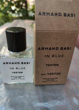 Парфюмированная вода тестер  armand basi