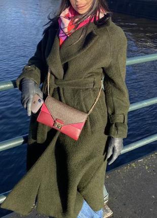 Шерстяное пальто Massimo Dutti. Limited edition