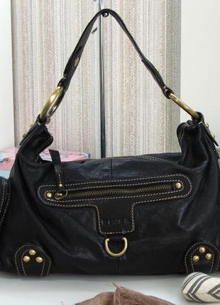 Большая стильная сумка rives, натуральная кожа
