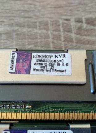 Kingston DDR2 667 4GB оперативная память