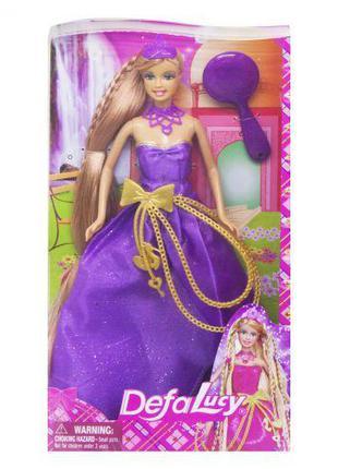 Кукла Defa: принцесса в фиолетовом 8195