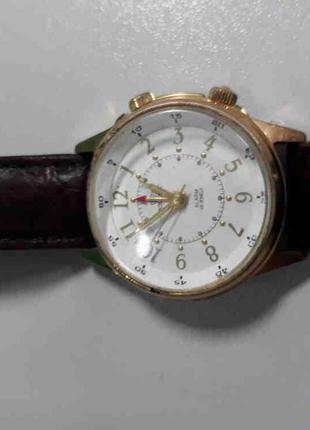Наручные часы Б/У Poljot 18 jewels с будильником