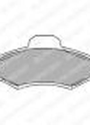 BRP1139-E Тормозные колодки передние (19.0mm) Ford Escort 90- ...