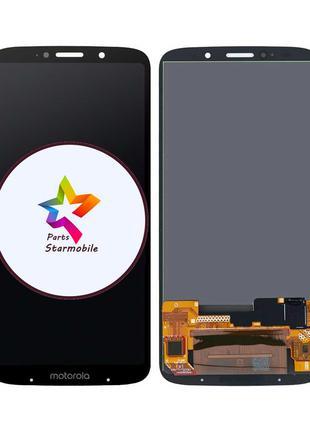 Дисплей Motorola XT1929 Moto Z3 Play + сенсор черный