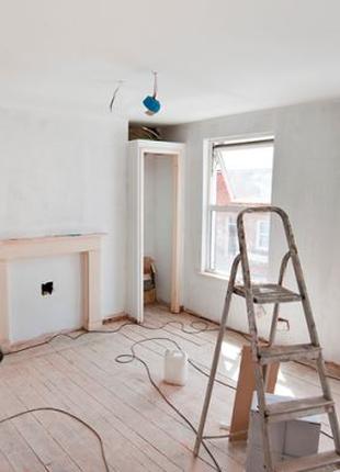 Ремонт помещения под ключ квартиры  комнаты офиса