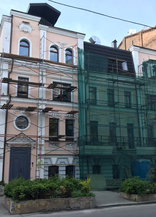 Косметический ремонт и реконструкция фасадов