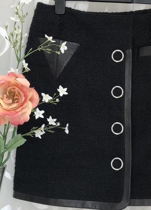 Vip♥️😎 дизайнерская шерстяная юбка alexander wang, brunello.