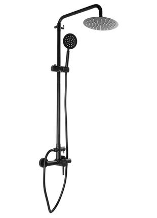 Душевая колонна со смесителем для душ. кабины SUS-003-J черный...