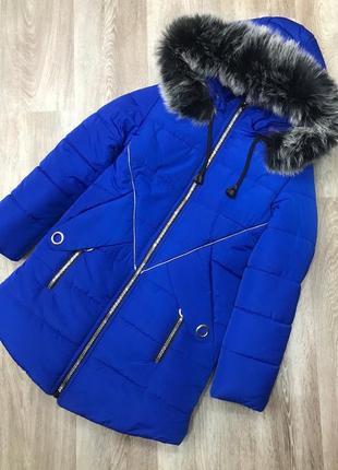 Теплые зимние куртки для девочки