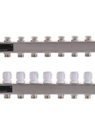 Коллекторный блок с термостат. клапанами EP.S1100-09 1