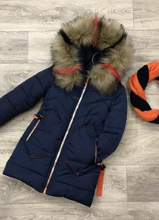 Красивые зимние куртки с хомутом