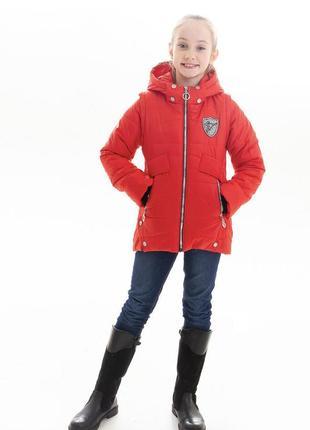 Осенняя куртка жилет на девочку
