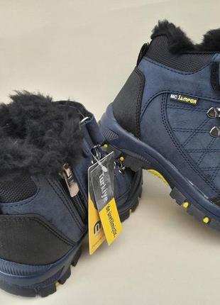 Турецкие качественные зимние ботинки новинка