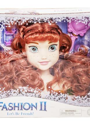 Кукла-манекен для причесок 'Холодное сердце. Анна' (LK1043)