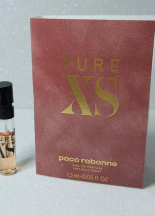 Paco rabanne pure xs for her - парфюмированная вода