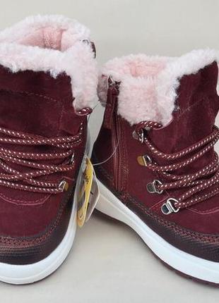 Качественные теплые зимние ботинки новинка
