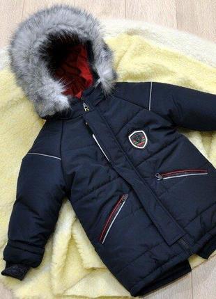 Зимняя куртка парка для мальчика