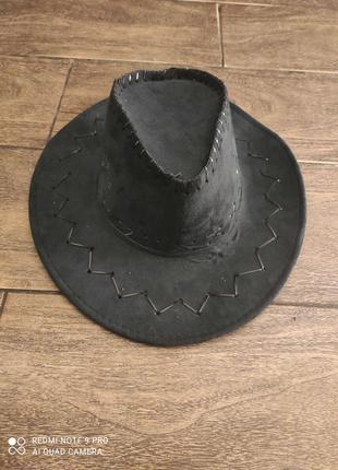Кавбойская шляпа.
