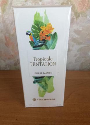 Парфюмированная вода 100мл tropicale tentation