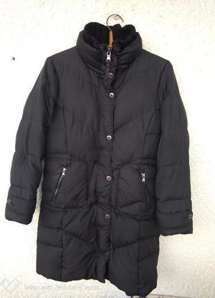 Пуховик пальто esprit m куртка теплая зимняя