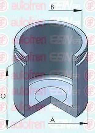 Поршень, корпус скобы тормоза AUTOFREN SEINSA D025455 на RENAU...