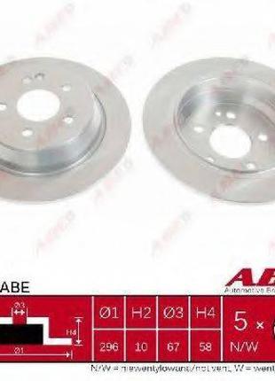 Тормозной диск ABE C4M033ABE на MERCEDES-BENZ VITO / MIXTO фур...