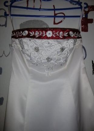 Платье свадебное, тематическое, niki by niki livas