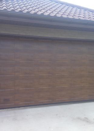 Установка гаражных и въездных ворот.