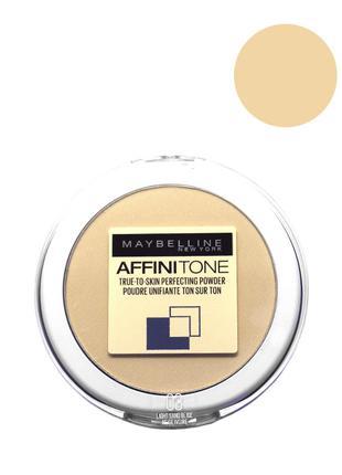 Maybelline Affinitone Powder Пудра для лица 03 светло бежевый
