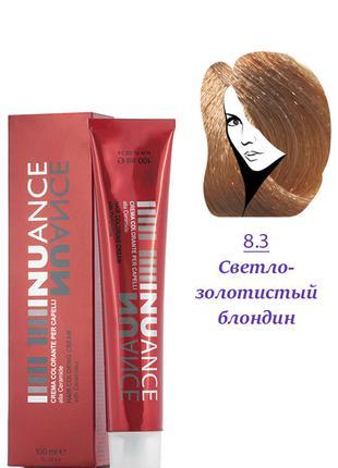 Nuance Крем-краска для волос 8.3 светло-золотистый русый