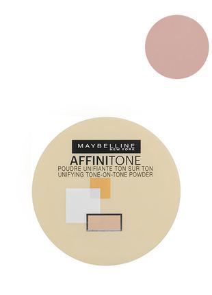 Maybelline Affinitone Powder Пудра для лица 42 темно бежевый